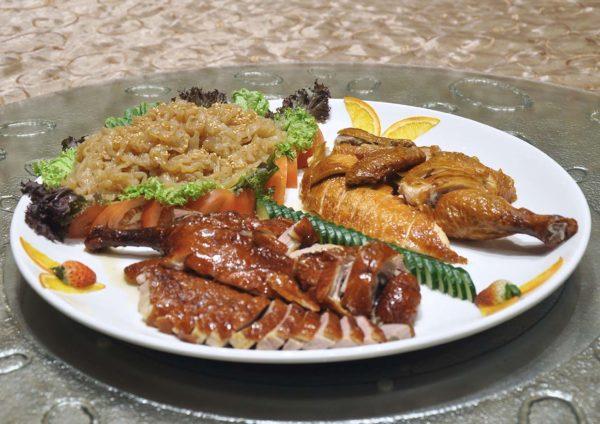 one world hotel zuan yuan chinese new year duck chicken