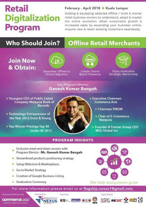 productivity nexus for retail and fnb flagship program retail digitalisation