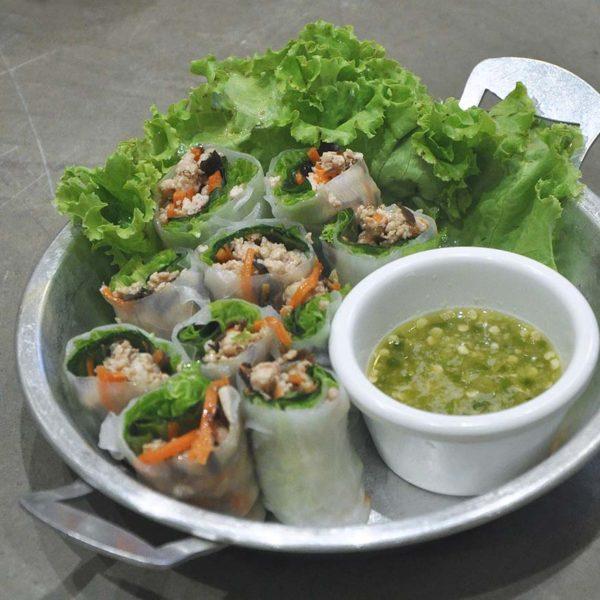 soi 19 thai food kuchai lama pork spring roll