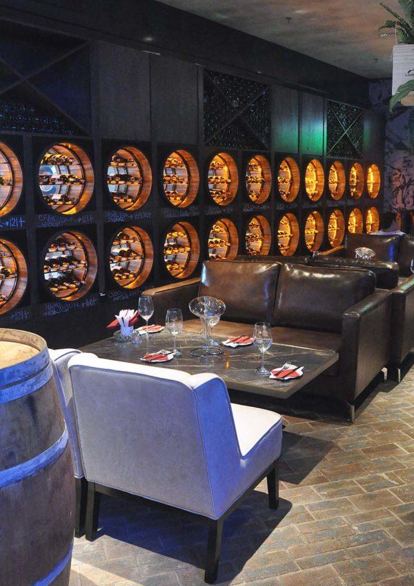 the barn wine bar citta mall interior