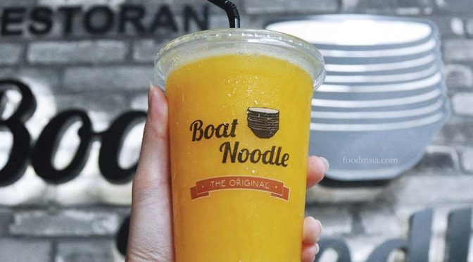 CNY Prosperity Yum @ The Original Boat Noodle