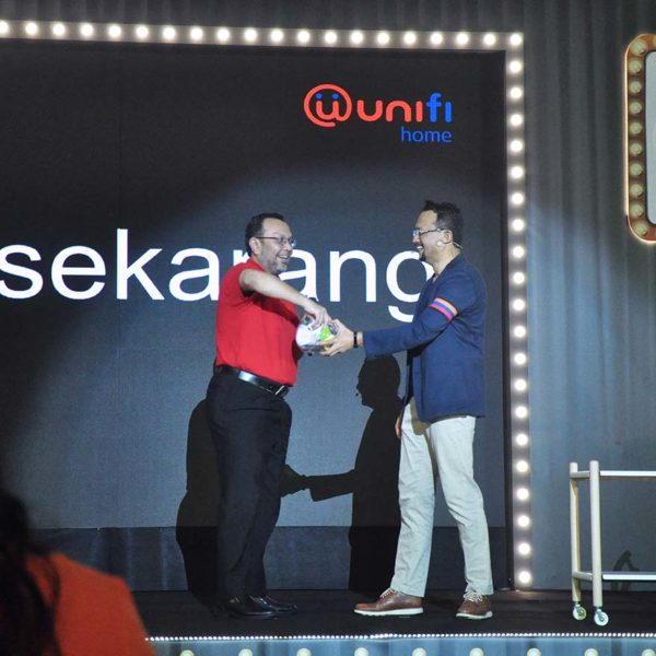 unifi brand repositioning event lucky draw