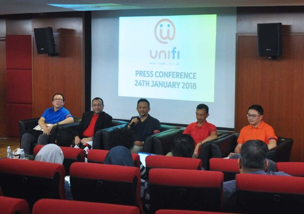unifi brand repositioning event press conference