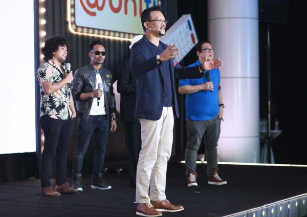 unifi tv teka tekan live interactive gameshow jeremy kung