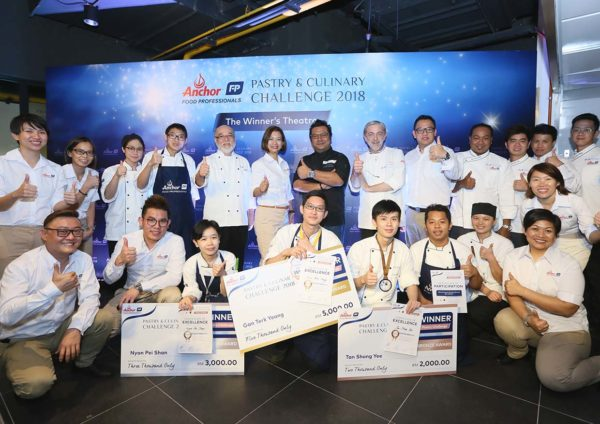 anchor food professionals pastry and culinary challenge 2018 group shot