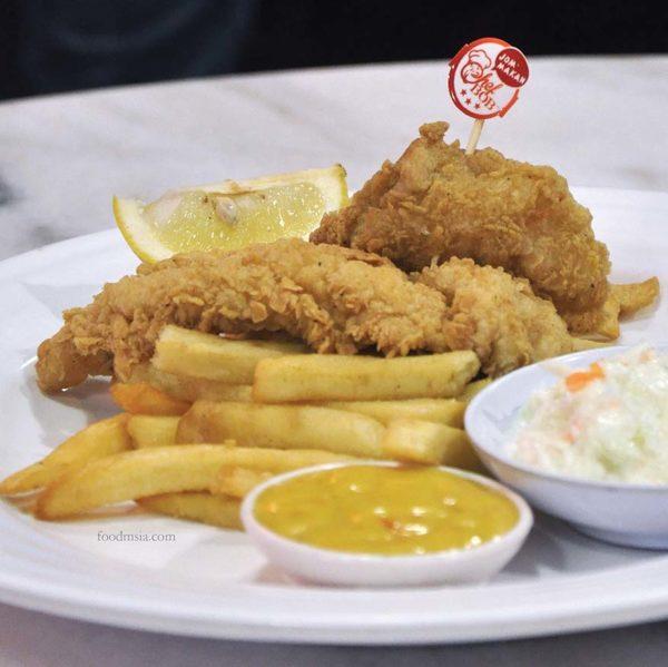 chef bob western asian restaurant ttdi grove kajang fish and chip