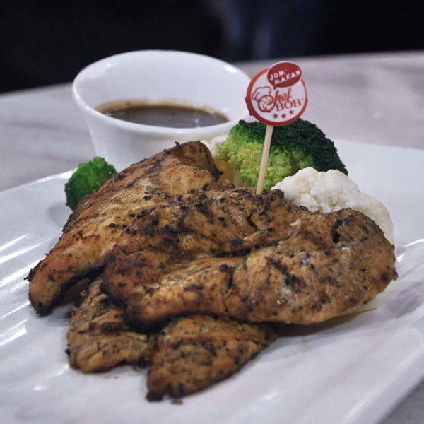 chef bob western asian restaurant ttdi grove kajang grilled chicken
