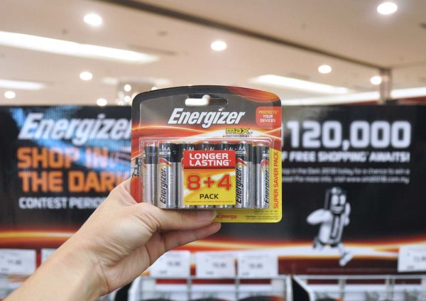 energizer shop in the dark 2018 battery