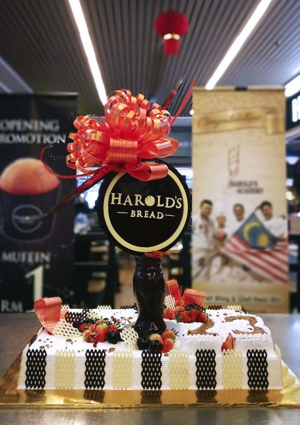 harold's bread bakery mydin usj subang jaya cake demonstration