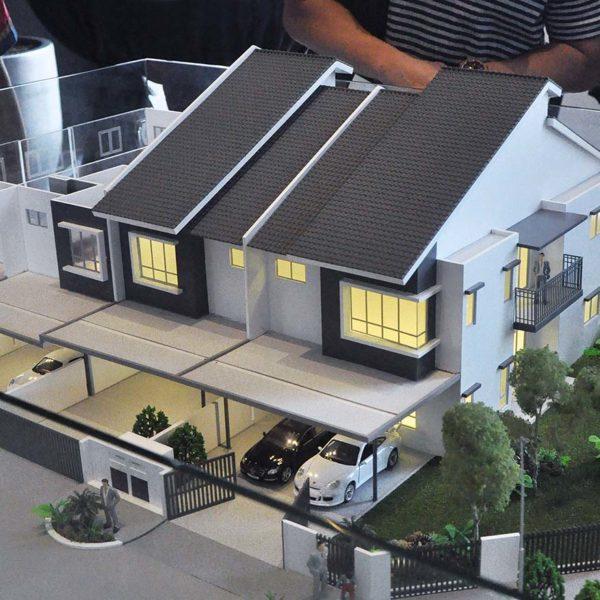 iringan bayu seremban osk property phase1 pastura house model
