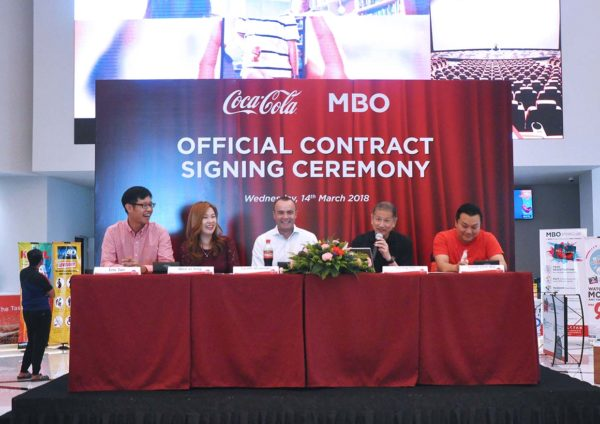 mbo cinemas coca-cola beverages signing ceremony starling mall