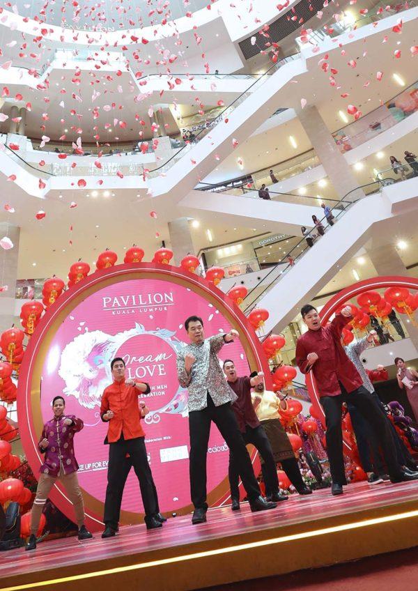 pavilion kuala lumpur dream love cny chap goh meh kungfu show