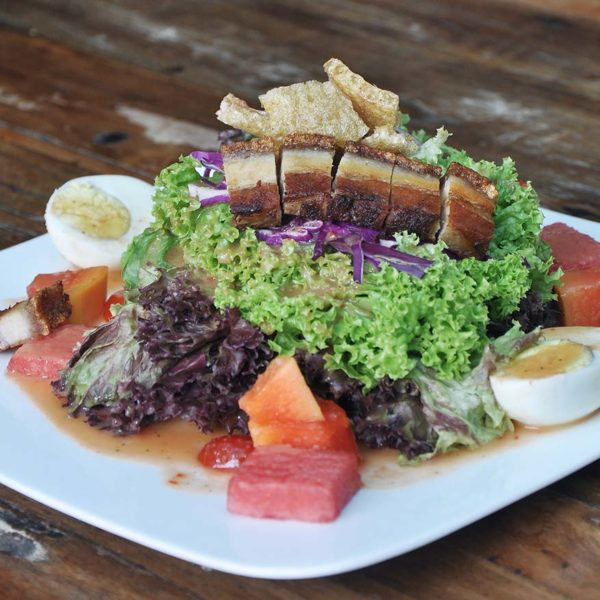 stand by you naughty nuri's signature roast pork salad