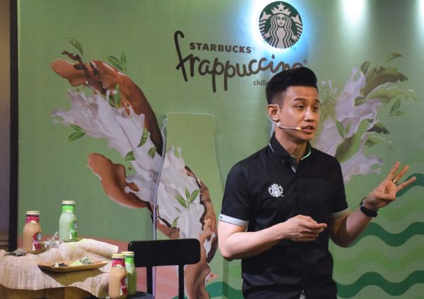 starbucks malaysia bottled frappuccino launch event