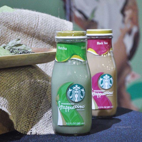 New Tea-Based Bottled Frappuccino @ Starbucks Malaysia