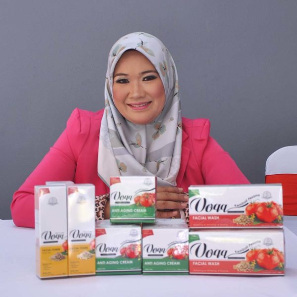 voqq skin care tomato extract datin nur samsidar ds pesona