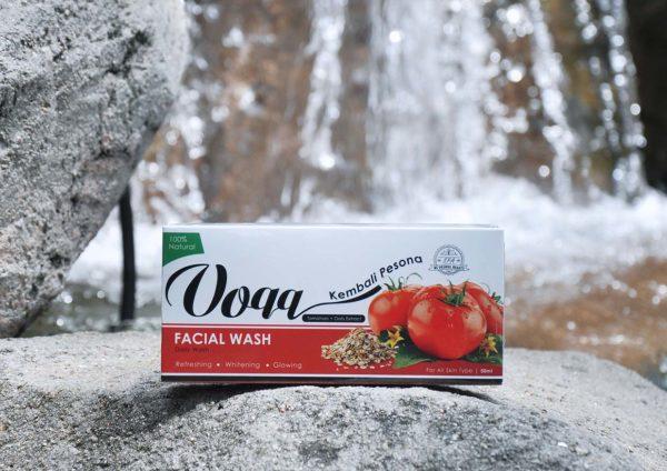 voqq skin care tomato extract facial wash