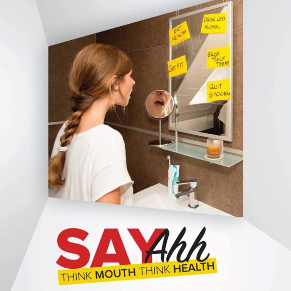 world oral health day malaysian dental association say ahh think mouth think health