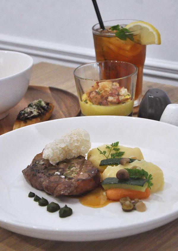champignon oasis damansara european restaurant set lunch