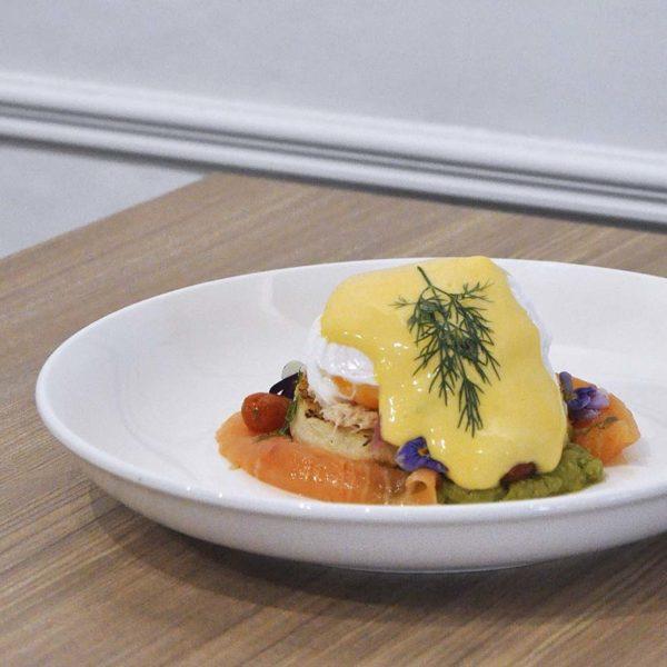 champignon oasis damansara european restaurant smoked streaky bacon egg benedict