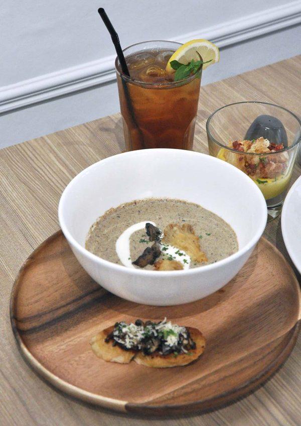 champignon oasis damansara european restaurant wild mushroom soup