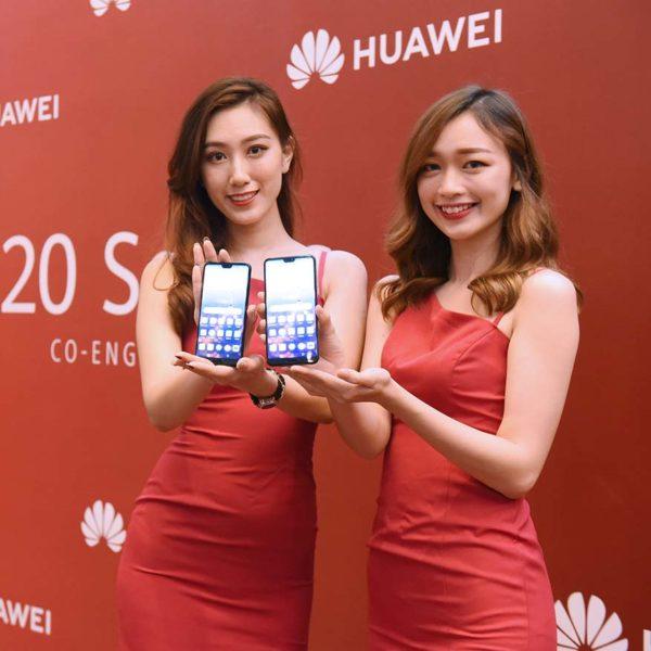 huawei p20 series smartphone launching