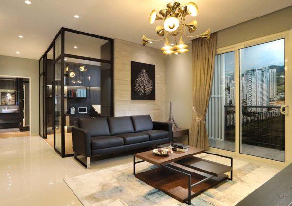 inspirasi mont kiara mkh berhad condominium living hall