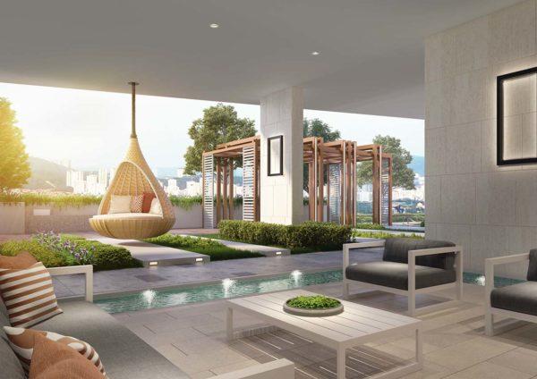 inspirasi mont kiara mkh berhad condominium lounge