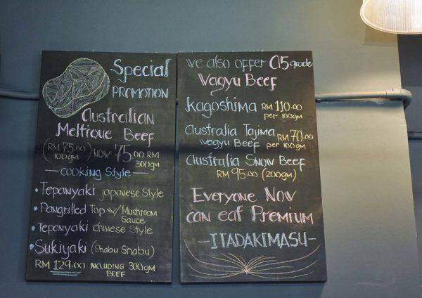 kokoro kitchen restaurant japanese cuisine beef menu