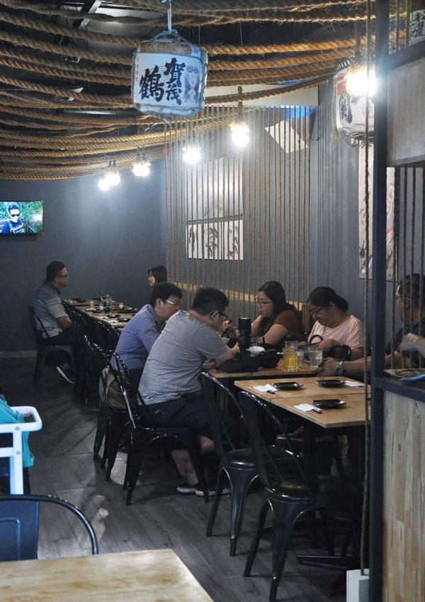kokoro kitchen restaurant japanese cuisine interior