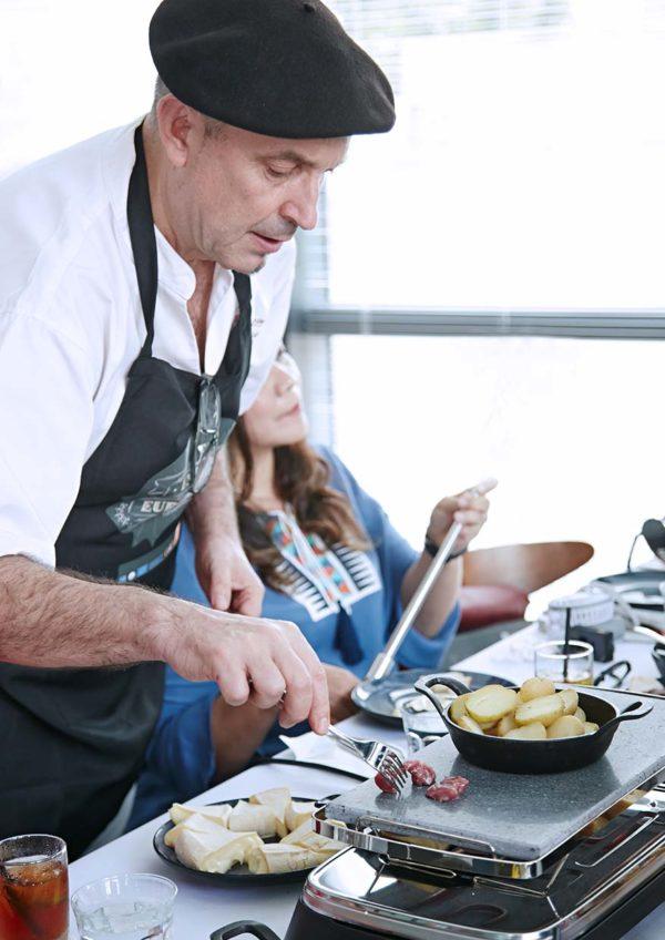 raclette european cheese cocott kuala lumpur melting