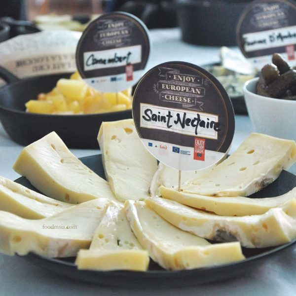 raclette european cheese cocott kuala lumpur saint nectaire