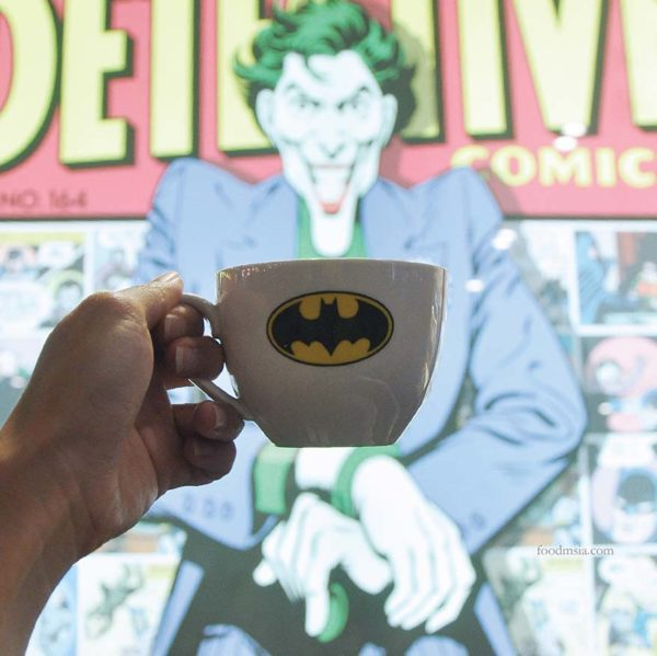 skyavenue genting highlands dc comics super heroes cafe batman coffee