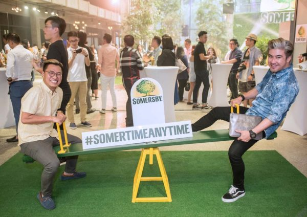 somertime anytime somersby cider fun time