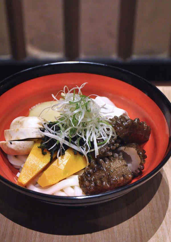 sushi tei japanese restaurant healthy menu namako yasai noodle