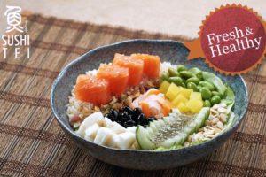 Healthy Poke Bowl & Vegetarian Menu @ Sushi Tei Malaysia
