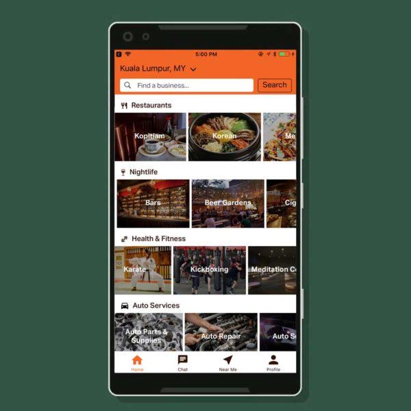 taptab social messaging app categories