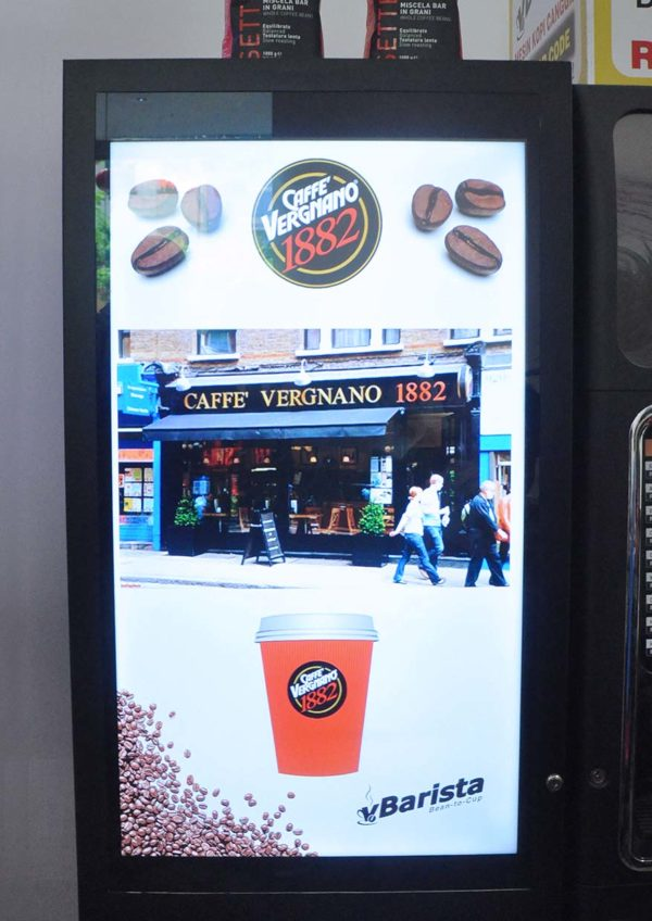 vbarista cashless fresh coffee vending machine caffe vergnano 1882