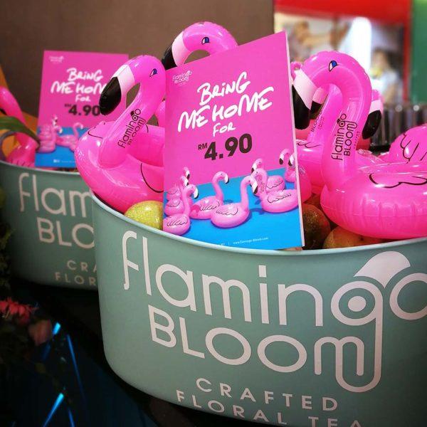 flamingo bloom tea salon sunway pyramid outlet