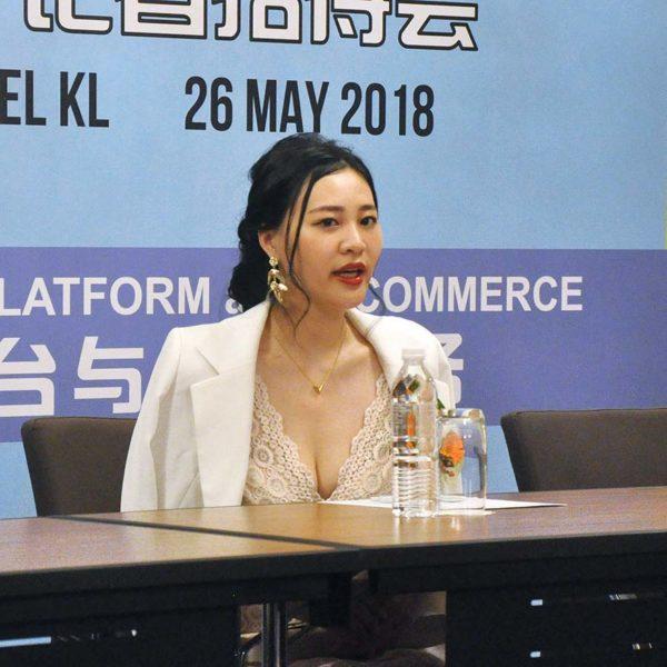 nimpmos blockchain live ecommerce platform yoko hsu