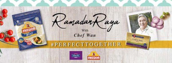 #perfecttogether mission foods emborg chef wan ramadan raya