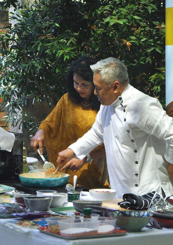 #perfecttogether mission foods emborg chef wan ramadan raya demo