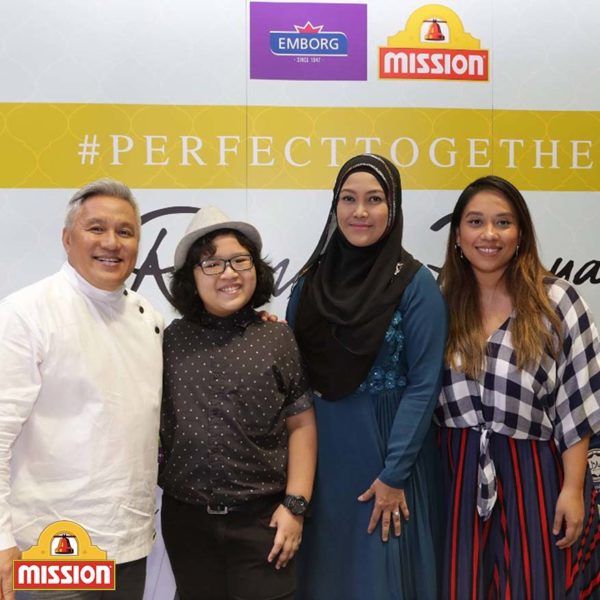#perfecttogether mission foods emborg chef wan ramadan raya influencers