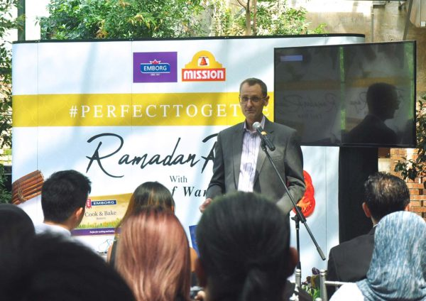 #perfecttogether mission foods emborg chef wan ramadan raya kennet paulsen