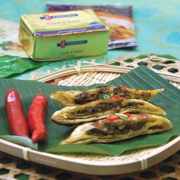 #perfecttogether mission foods emborg chef wan ramadan raya mutton murtabak wraps