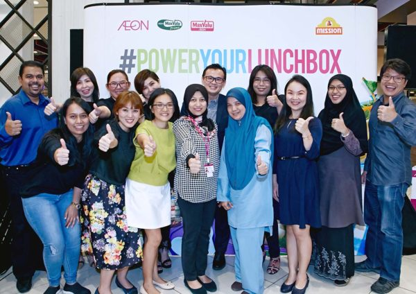 RM20,000 Given Away To Mission Foods & AEON #PowerYourLunchBox Contest Winners