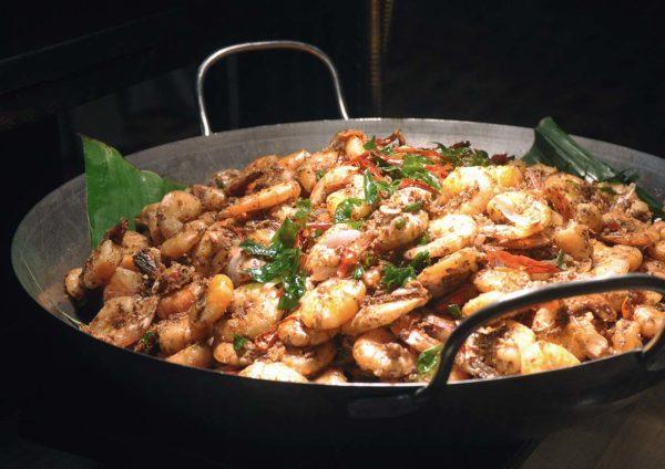 ramadan buffet kuala lumpur convention centre fried prawn