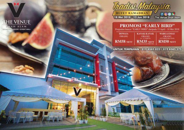 ramadan buffet the venue shah alam promotion