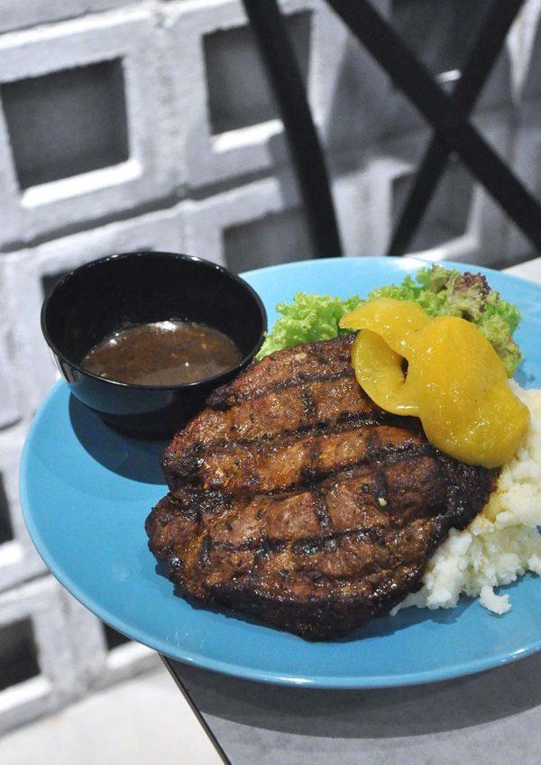 the brew house ttdi western cuisine pork steak
