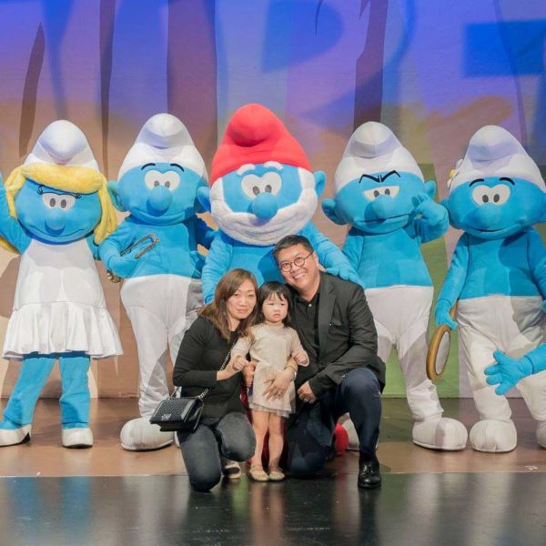 the smurfs live on stage resorts world genting audience